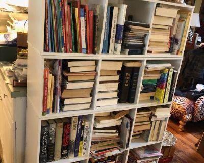 Non-Fiction Book Collection, Large Trailer Load of Shoes, Clothing, Purses & more!