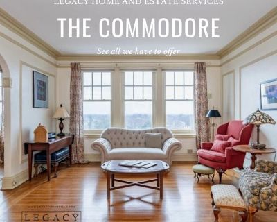 The Historic Commodore in the Highlands Estate Sale