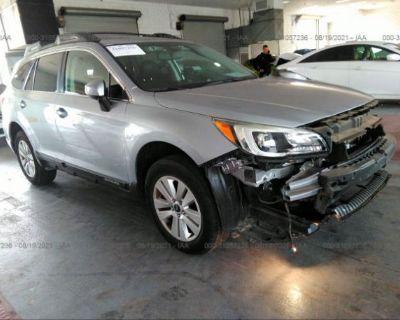 Salvage Silver 2015 Subaru Outback