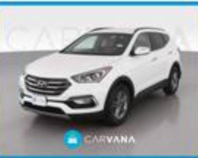 2017 Hyundai Santa Fe White, 59K miles