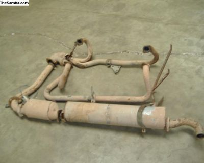 VW vanagon 2.1 exhaust system 86-91 yr