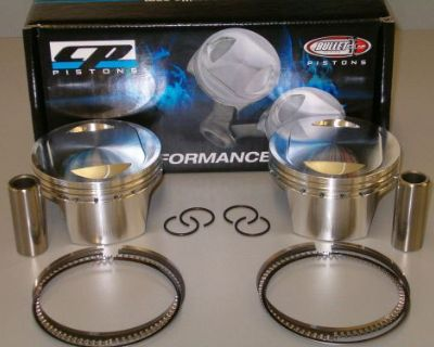 Cp Carrillo Pistons 11.0 Cr Harley Davidson Twin Cam 107 Forged Dhm107-6