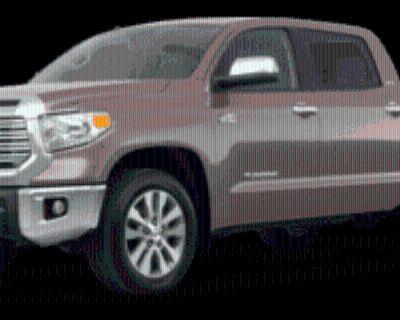 2018 Toyota Tundra Limited CrewMax 5.5' Bed Flex Fuel 5.7L 4WD