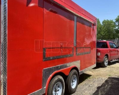 2020 - 8' x 16' Food Concession Trailer / Like-New Mobile Kitchen
