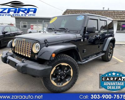 Used 2014 Jeep Wrangler Unlimited 4WD 4dr Dragon Edition *Ltd Avail*
