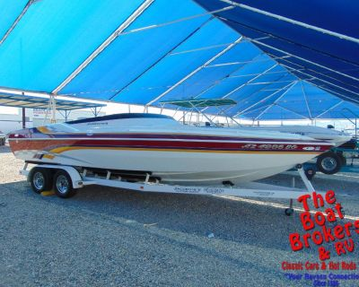 2002 SHOCKWAVE TREMOR 25 PERFORMANCE BOAT