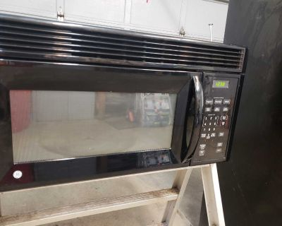 GE Over Range Microwave - Black