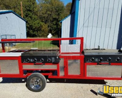 NEW 4' x 11' Mobile BBQ Pit Grill / Smoker Catering Trailer