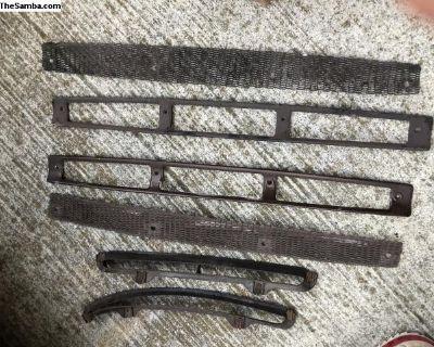 911 hood vent grille screen set