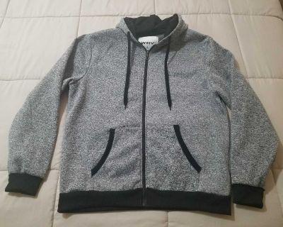 Mens Upscale Hooded Jacket. XL.
