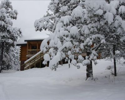 Surrounded by National Forest - Quiet Yet Only 3-Miles to Town - Alpine Cellars Village