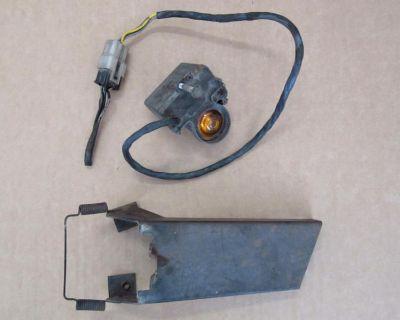 Auto-dimming Headlight Sensor & Bracket, Used, 1970 Cadillac Eldorado