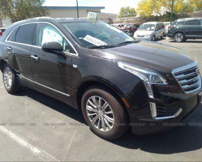 Salvage Black 2017 Cadillac Xt5