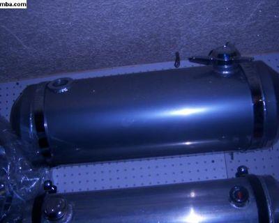 10x30powdercoated near chrome custom tank.