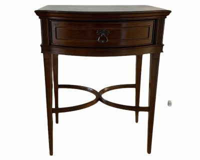 Bombay Company Side Table single drawer 31 h