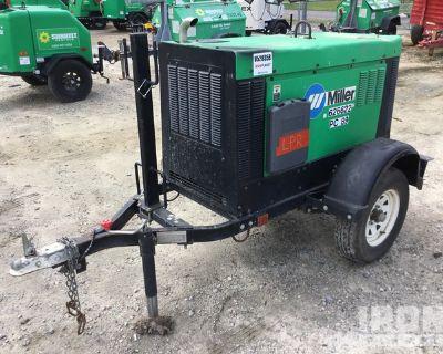 2014 Miller Big Blue 400 Eco Pro 400 A Mobile Engine Driven Welder