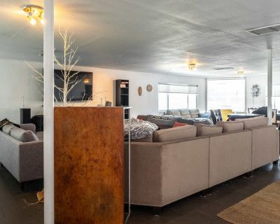 Unique furnished loft space in the heart of WeHo with south facing views, West Hollywood, CA