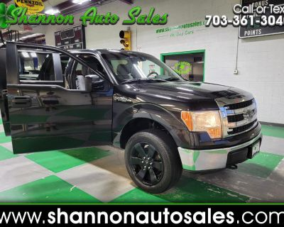 Used 2013 Ford F-150 XLT SuperCrew 5.5-ft. Bed 4WD