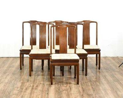 LOVESEAT.COM Vintage Furniture & Decor Auction - Vintage Dining Chairs, Mid-Century Modern Dressers