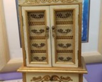 French Provincial Musical Jewel Box #2224-326