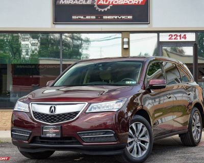 2016 Acura MDX Technology with Entertainment Package