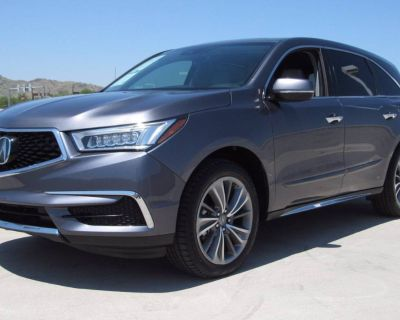 2018 Acura MDX Technology with Entertainment Package