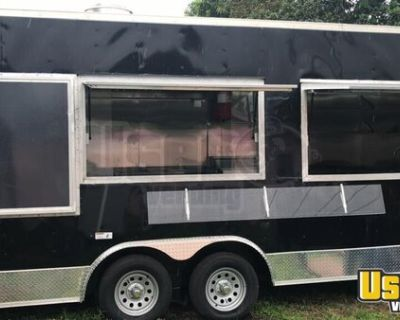 Very Lightly Used 8.5' x 18' Kitchen Food Trailer/Loaded Mobile Kitchen