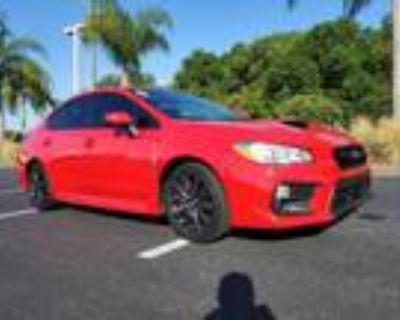 2020 Subaru WRX Red, 11K miles