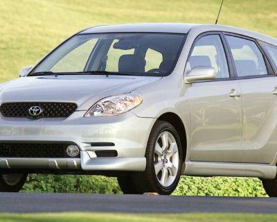 2003 Toyota Matrix Base