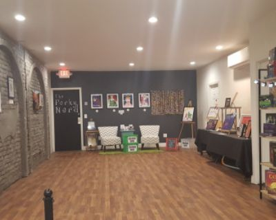 Vibrant Cozy Comic and Coffee Shop with Art Gallery, Burbank, CA