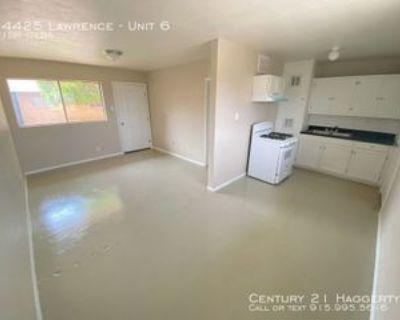 4425 Lawrence Ave #6, El Paso, TX 79904 1 Bedroom Apartment