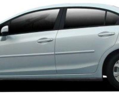 For: Honda Civic 4 Door; Painted Body Side Moldings Mouldings Trim 2012-2015