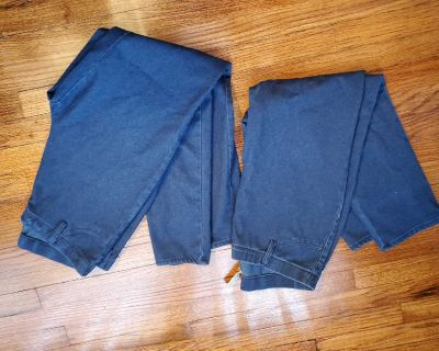 Faded Glory jeans and capris leggings size large 12-14