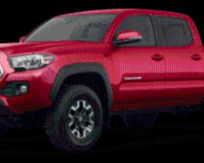2020 Toyota Tacoma TRD Off Road Double Cab 5' Bed V6 4WD Manual