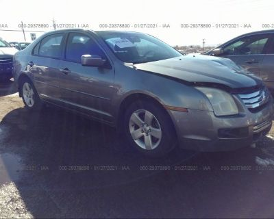Salvage Gray 2006 Ford Fusion