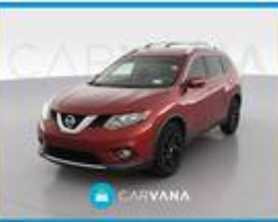 2015 Nissan Rogue Red, 73K miles