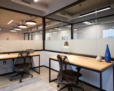 Private Office for 2 at Industrious Atlanta Monarch Tower