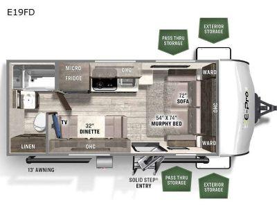 2022 Forest River Rv Flagstaff E-Pro E19FD