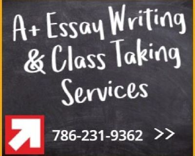 A+ Essay Writing Services
