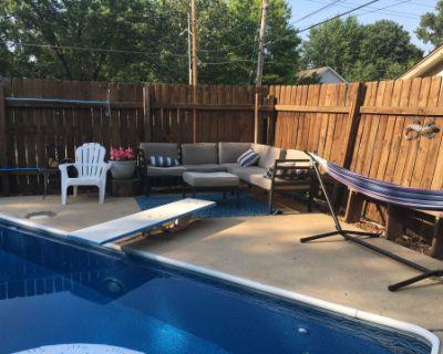 Captain Marvel's Oasis - Backyard Pool & Entertainment Area, Gladstone, MO