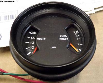 Porsche 911 CIS In Dash Fuel Pressure Gauge