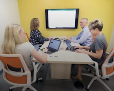 Private Meeting Room for 4 at Office Evolution - Carmel