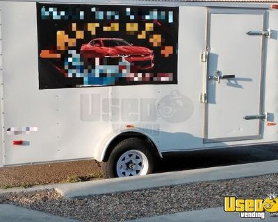 Turnkey Mobile Car Detailing Service Trailer / Mobile Auto Spa