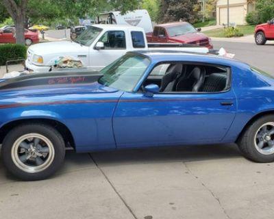 1972 Split Bumper Chevrolet Camaro