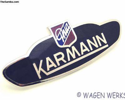 Karmann Badge - Karmann Ghia 1960 to 1974 Germany