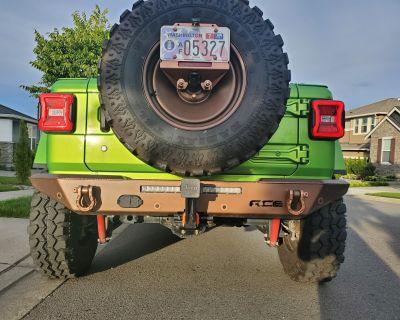 Washington - Ace Halfback Rear Bumper $400-$500