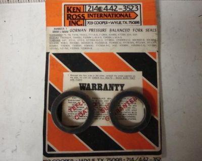 Yamaha Dt Fork Seals 34mm X 46mm Kawasaki F8 S2 S3 Suzuki Tm250 Tm400 Ts400 Ts