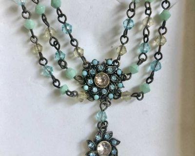 Vintage Necklace Medallion