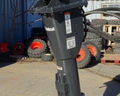 2017 Bobcat HB2380 Breaker Pin-On Mounting Cap – 1,000 ft. lb. Impact Energy Class - Fits Bobcat E80, E85 M-Series Excavators - Hose Kit with Couplers & Nail Point