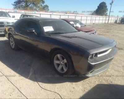 Salvage Gray 2014 Dodge Challenger